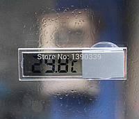Термометр на присоске к стеклу, ЖК-Цифровой,  -20 до +110;  AG10