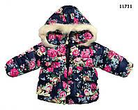 Демисезонная куртка для девочки. 3, 4 года