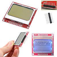 Экран LCD Board 84*48 LCD; 4 строки символов; для Arduino