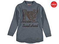 Теплая свитер туника для девочек 5, 6-7, 7-8  лет.Турция!Свитер, кофта, джемпер, туника, на девочку