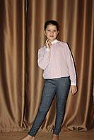 Теплые брюки для девочки подростка