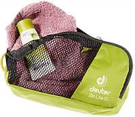 Практичная салатовая сумка  для косметики на 1 л. Zip Lite 1 DEUTER цвет  2060 moss