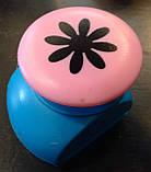 Дырокол фигурный Цветок кнопка 2,5 см, фото 2