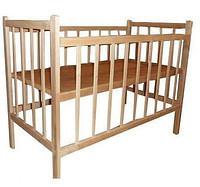 Кроватка для новорожденных КФ-1 без лака
