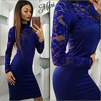 Гипюровое платье женское