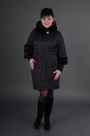 Элегантное женское зимнее пальто Дана
