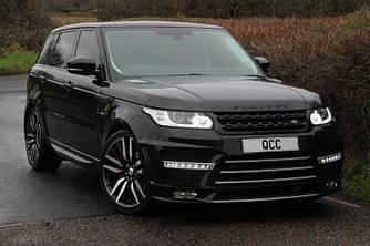 Тюнинг обвес Range Rover Sport стиль Lumma 2013