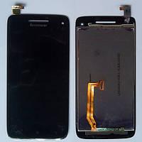 Дисплей для Lenovo S960 Vibe X + touchscreen, чёрный
