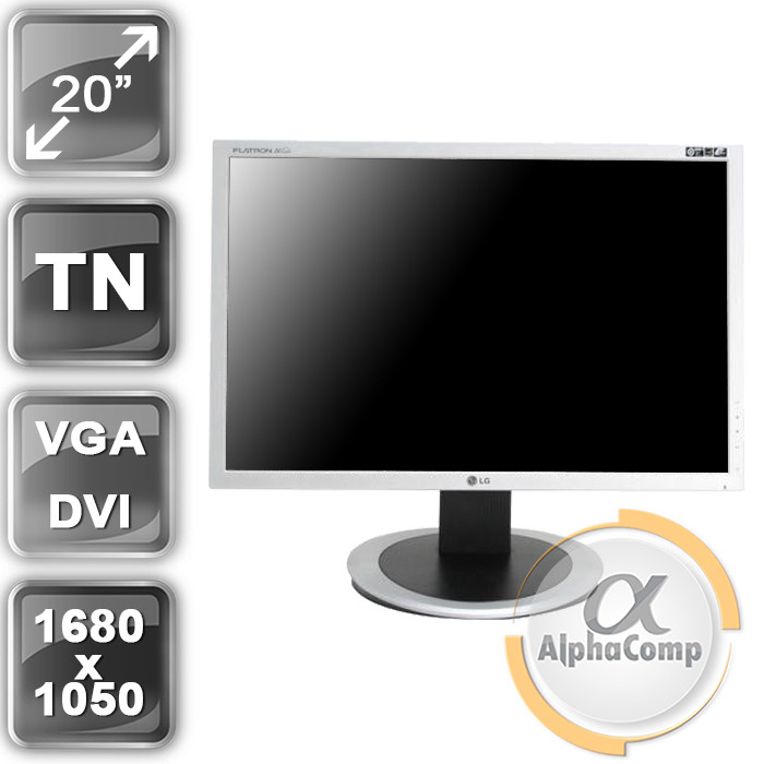 """Монитор 20"""" LG W204WT (16:10/VGA) class A БУ"""