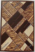 """Рельефный ковер Нью Йорк """"Паркет"""", цвет светло-коричневый"""
