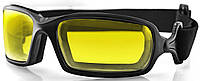 Очки BOBSTER Fuel Biker Anti-Fog Yellow Photochromic Lens