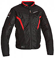 Летняя мото куртка Bering Florida красно черная, M