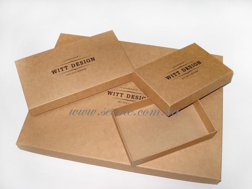 Коробки из крафт картона 16