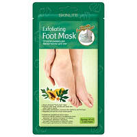 SKINLITE Отшелушивающая маска-носки для ног (размер 40-45)