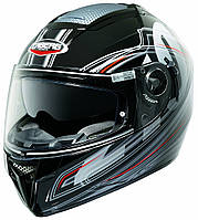 "Шлем Caberg EGO COLT BLACK\SILVER   ""L"", арт. C2BC0080, фото 1"