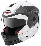 Шлем трансформер Caberg HyperX MOD белый/антрацит, L, фото 1
