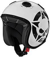 Шлем Caberg DOOM Darkside белый/черный, L, фото 1
