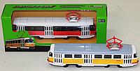 Трамвай металлический 6411 Автопром коллекционный