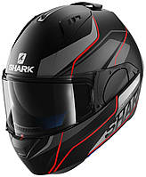 "Шлем SHARK EVO-ONE KRONO blackred """"XL"""" HE9409EKAR"""""