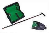 Набор для гольфа в кожанном кейсе с механизмом возврата мяча , фото 4
