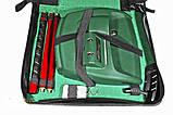 Набор для гольфа в кожанном кейсе с механизмом возврата мяча и пультом управления, фото 2