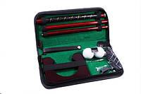Набор для гольфа в кожанном кейсе, фото 1