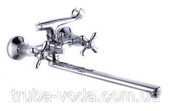 Смеситель для ванны MIXXEN Медея гусак 350 мм. М7235F