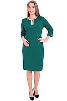 Платье изумрудное размеры 54, 56, 58, 60