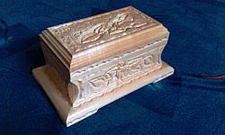 Сувенир ручной работы - шкатулка, фото 2