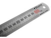 Линейка металлическая Sturm 1000мм 2040 01-1000