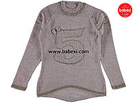 Теплая свитер-туника для девочек 9-10, 11-12 лет.Турция!Свитер, кофта, туника, на девочку