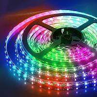 Светодиодная лента SMD 5050-RGB, 60 светодиодов на 1 м