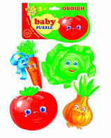Беби пазлы Овощи (новый штрихкод) VT1106-03 .