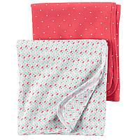 Комплект одеялко-пеленка-плед хб ТМ Carters 89*89 см