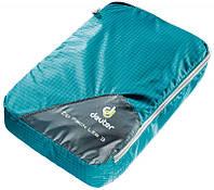Синий практичный мешок-чехол для одежды Zip Pack Lite 3 DEUTER цвет 3026 petrol