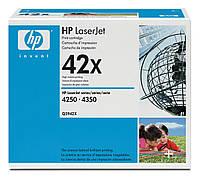 Картридж HP LJ 4250/4350 series (max) (Q5942X) оригинальный (без упаковки), фото 1