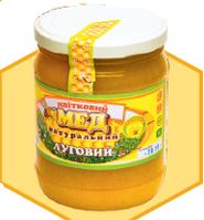 """Мед натуральний """"Луговий"""" 0,7 л"""