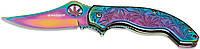 Нож Boker Magnum Colorado Rainbow, градиент.