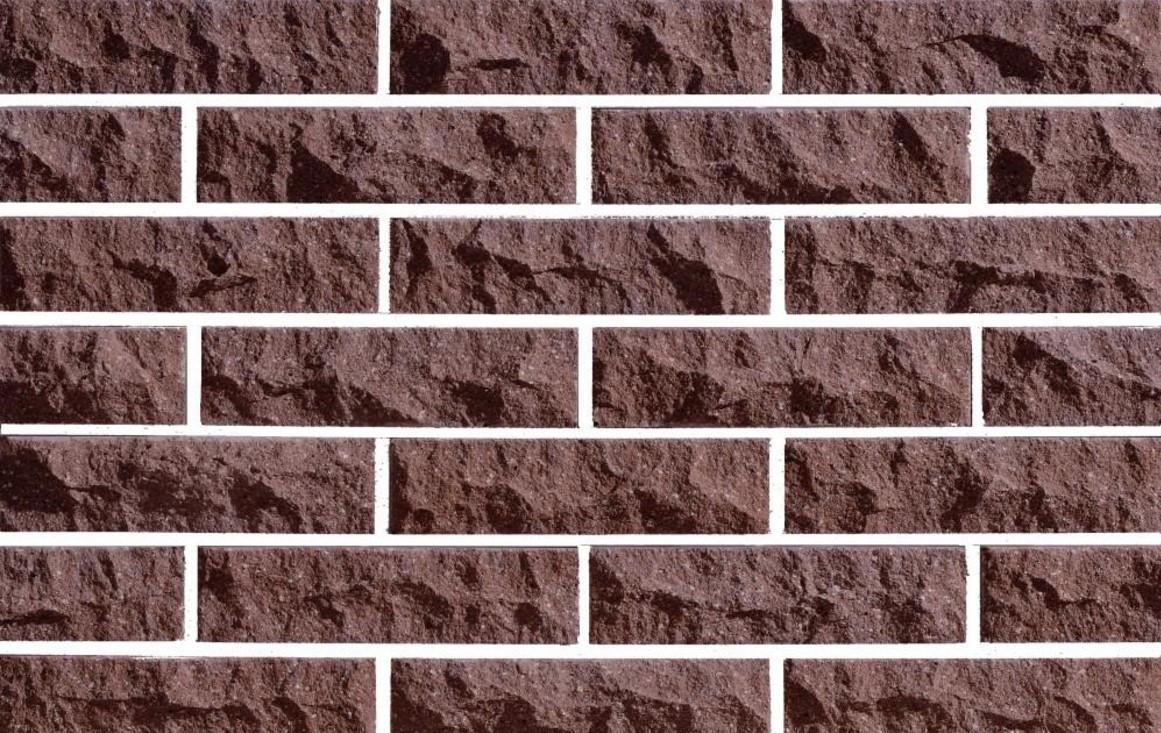 Плитка фасадная облицовочная ФАГОТ коричневая