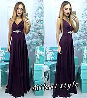 Красивое платье в пол Елена
