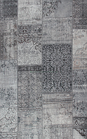 Ковер Grey Петчворк серый, фото 1