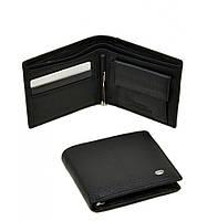 Кожаный мужской кошелек Dr Bond с зажимом для денег. Портмоне из натуральной кожи
