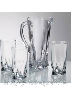 Набор для воды Bohemia Quadro 7пр