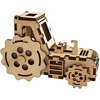 Деревянный набор-конструктор F-003. ТРАКТОР