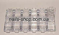 Контейнер 12 отделений для мелочей прозрачный