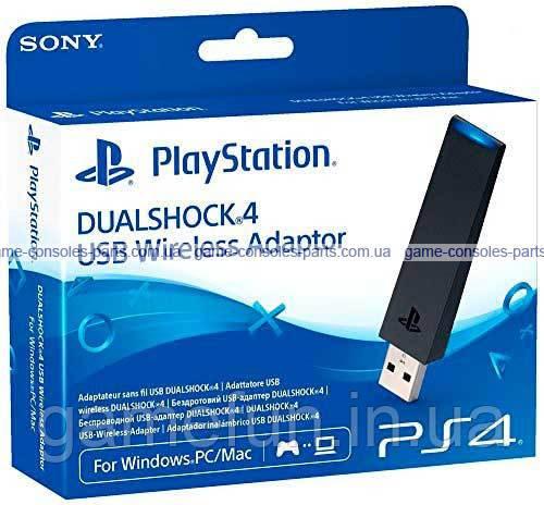 Бездротовий USB-адаптер DualShock 4 (PS4) (Original)
