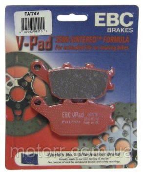 Тормозные колодки EBC FA174V