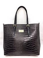 Женская сумка Laura Biaggi (5901 grey) leather
