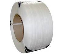 Лента упаковочная полипропиленовая ПП 12 мм * 0,8 мм * 2,3 км белая