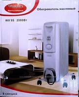Обогреватель масляный 9 секций Wimpex HEATER WX 9S 2000 Вт